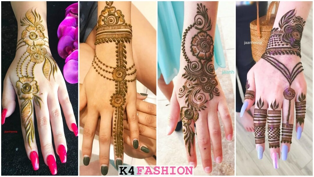 New & Unique Arabic Mehndi Designs for Kids Hands