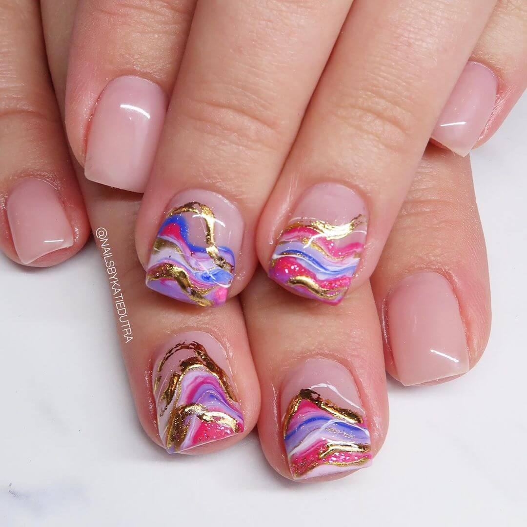 Marble nail coffin!