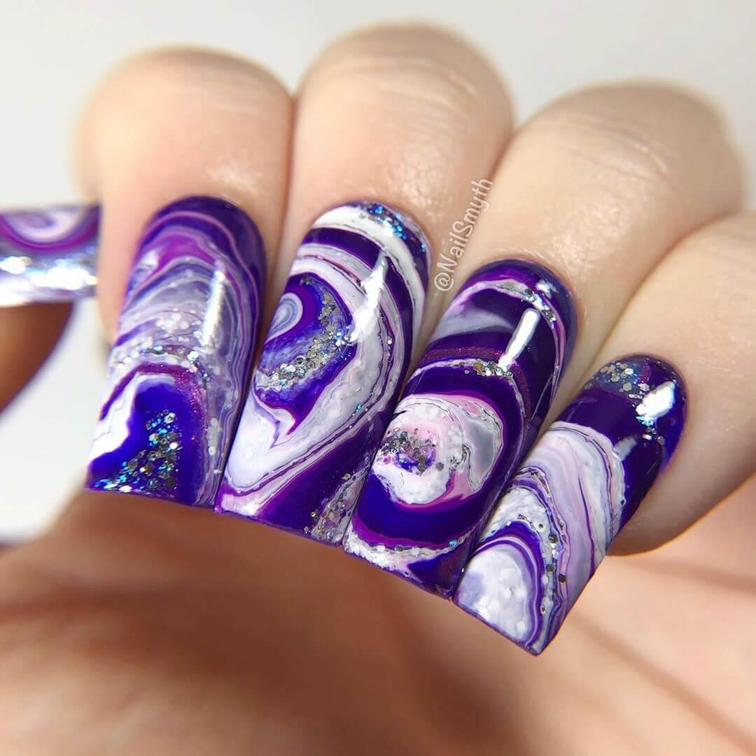 Purple fluid!