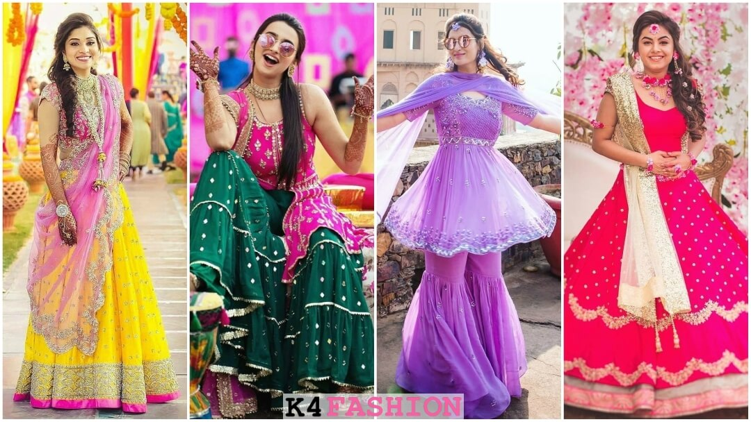 What do brides wear for Mehndi Function Know from Real Brides