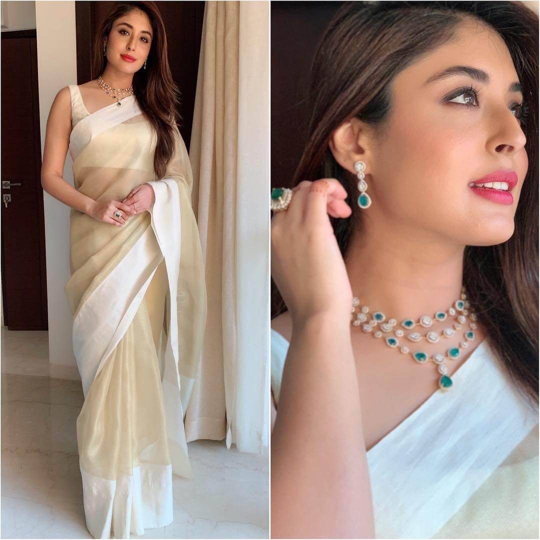 Simplistic white blouse