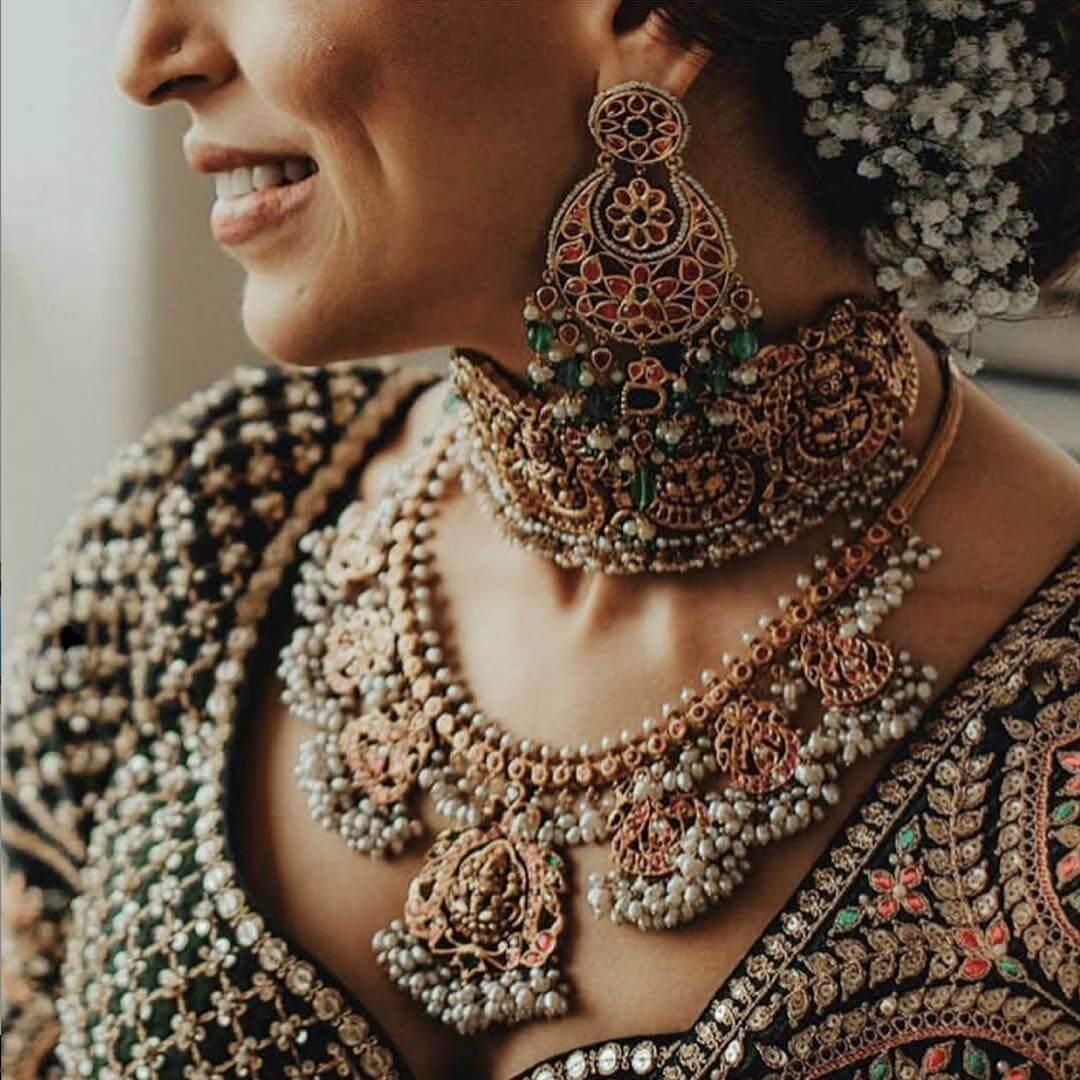 The Chic and Venus Piece Sabyasachi's Chandbali Earring Designs