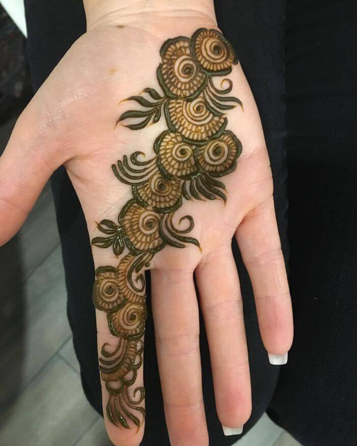 Simple Arabic Mehndi Designs For Front Hand K4 Fashion