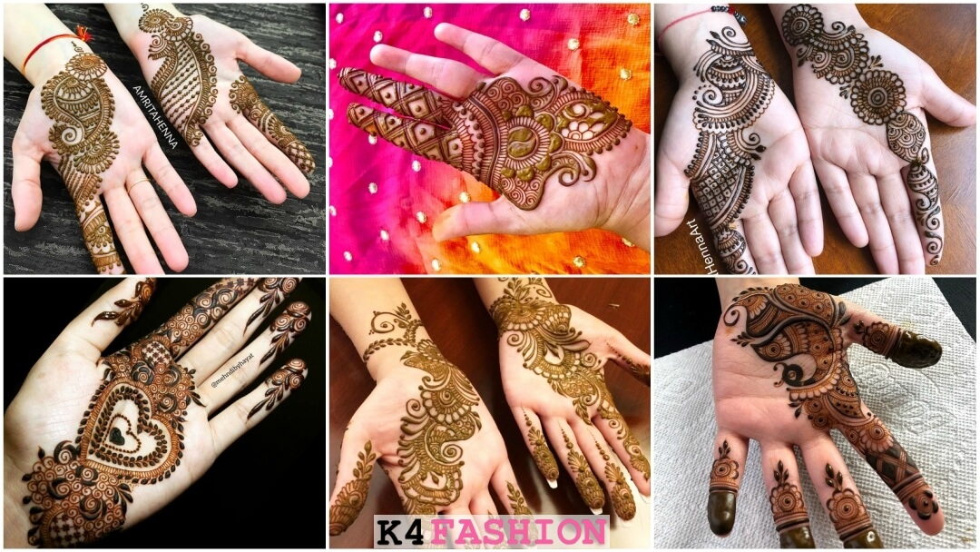 Latest Simple Arabic Henna Mehndi Designs For Beginners