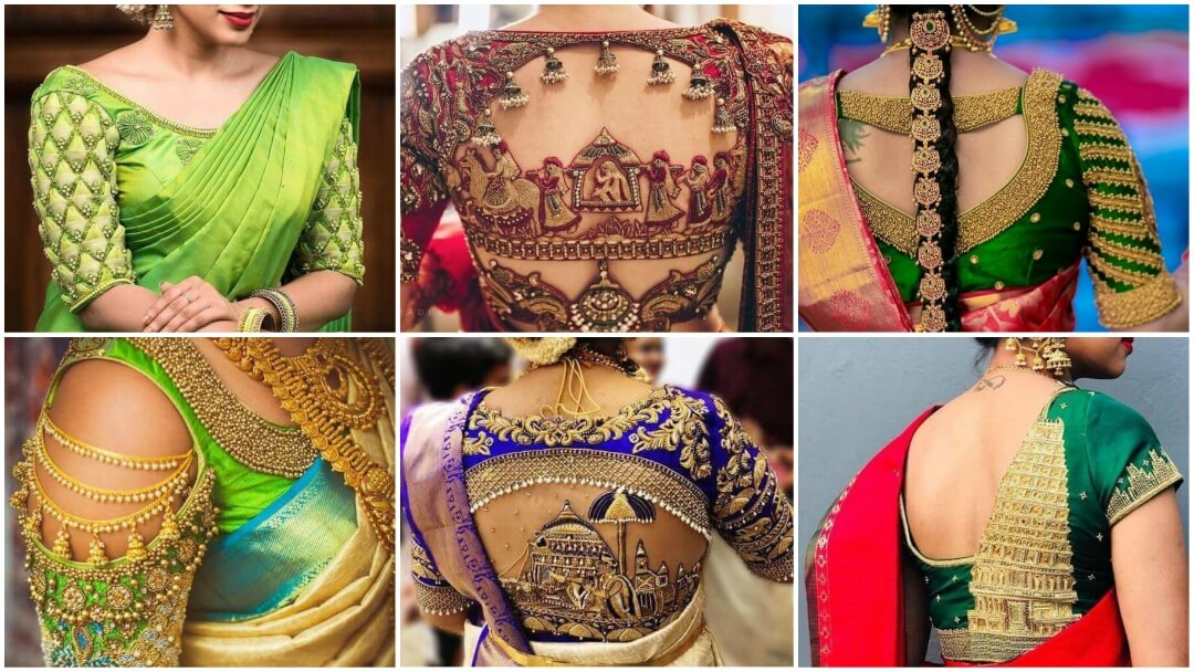 Saree Blouse designs for every South Indian bride