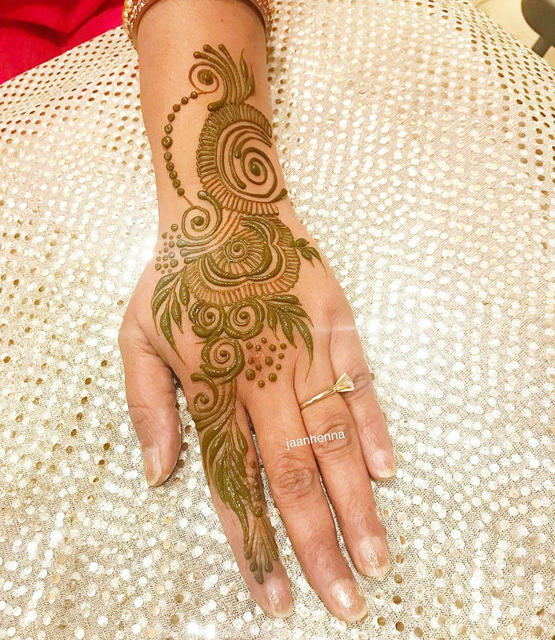Super Easy Arabic Henna Design Latest Simple Arabic Mehndi Designs for Back Hand 2020