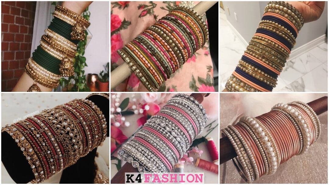 Indian Wedding Bangles Designs for Bride