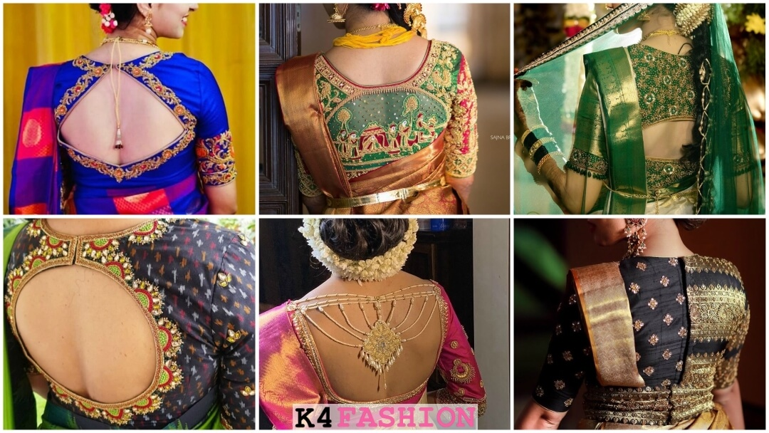 Blouse Back Neck Designs Archives K4 Fashion