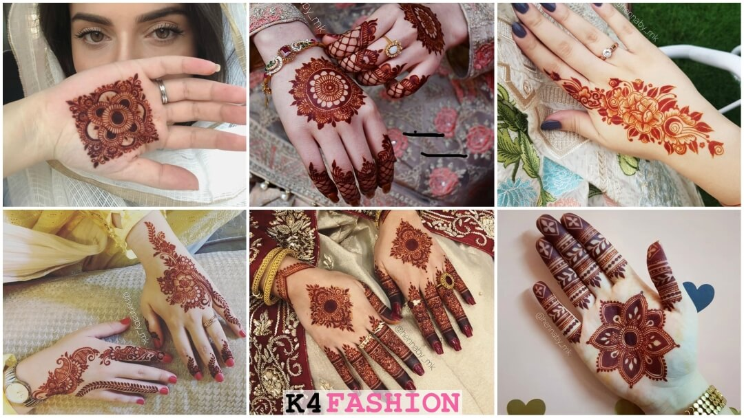 Latest Mehendi Designs For The Sister Of The Bride and Bridesmaids