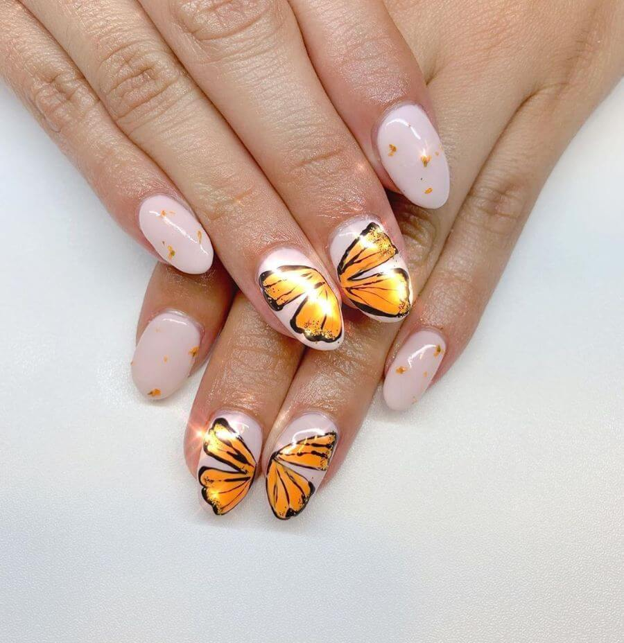 The Universal Butterfly Butterfly Nail Art Designs