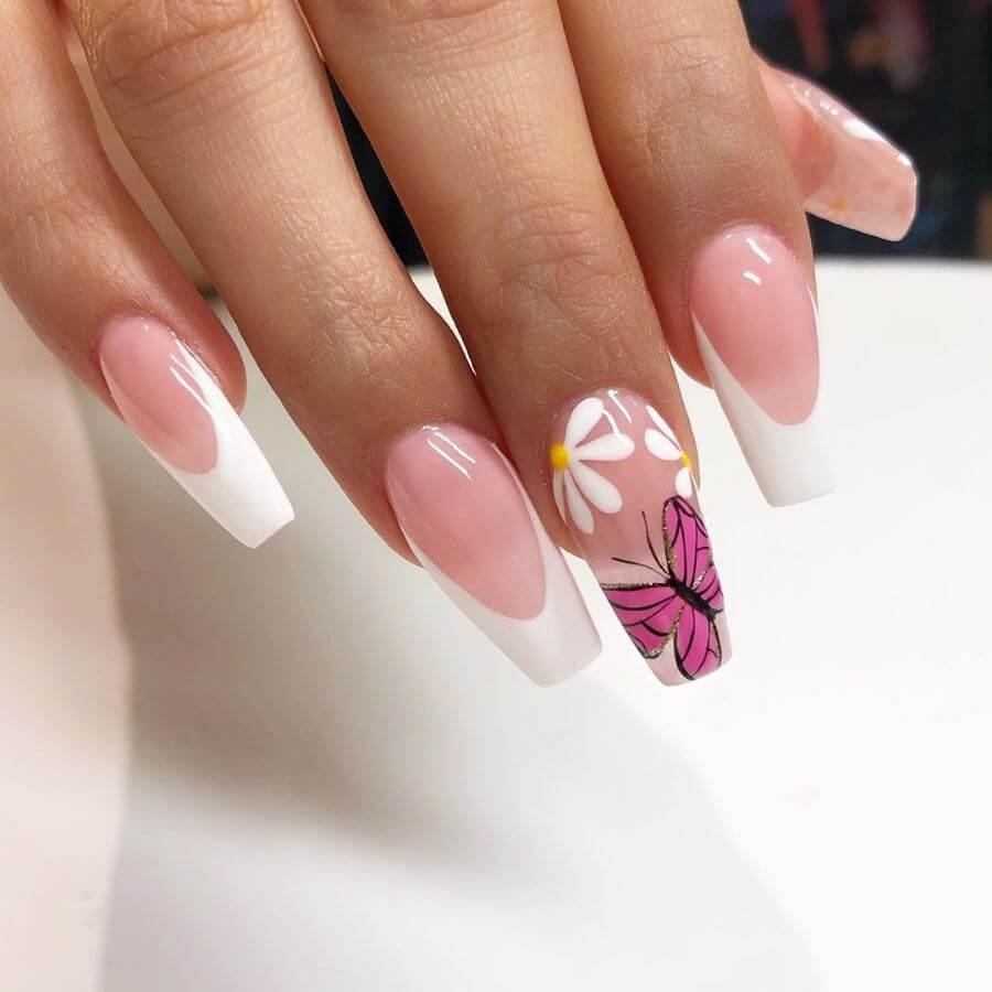 A Classic Twist! Nail designs