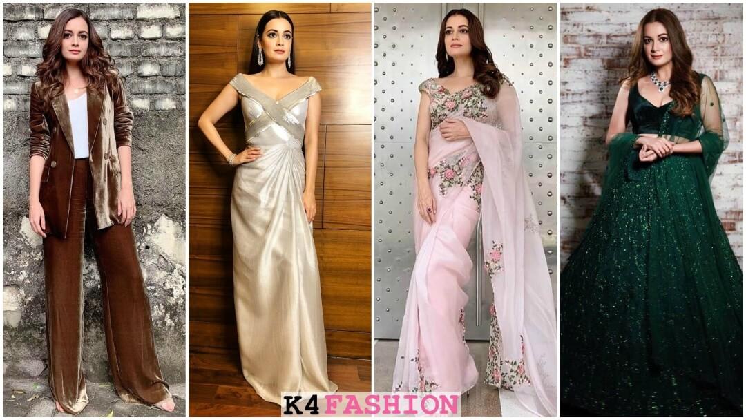 Dia Mirza's Dresses, Sarees, Lehenga, Jewellery & More