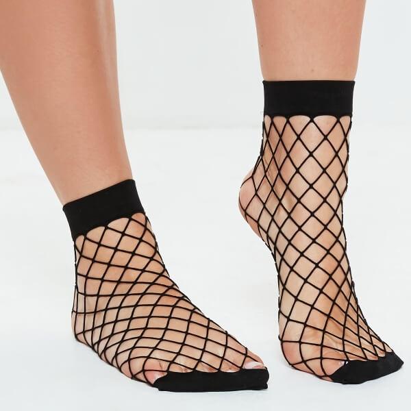 Fish Net Socks Designs for Women