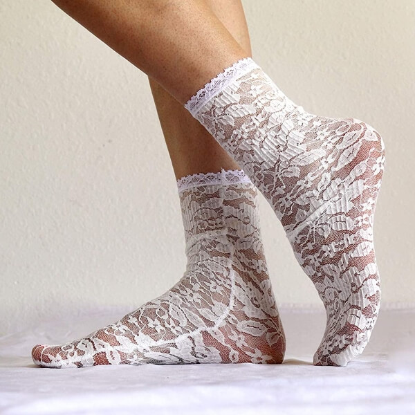 Lace Socks Designs for Girl and Women