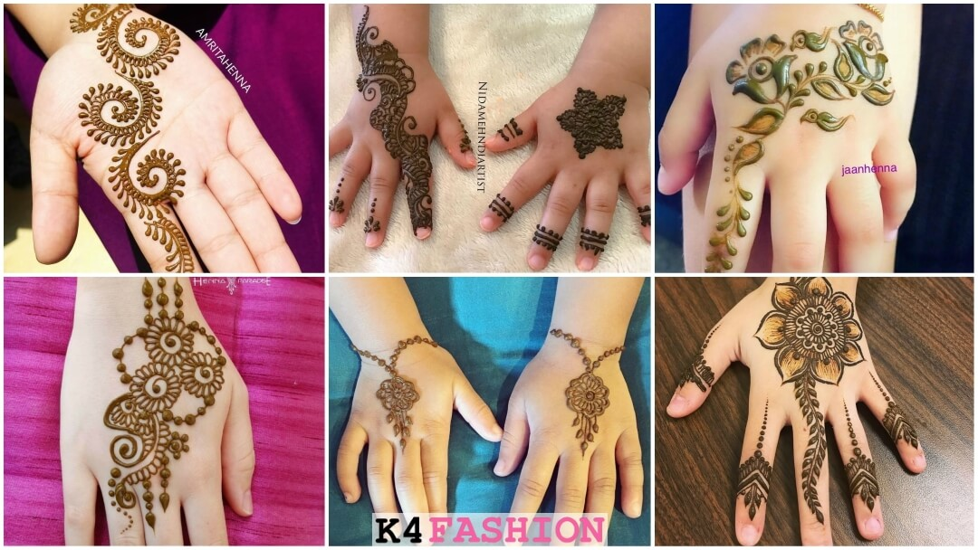Latest Arabic Mehndi Designs For Kids Not Just Chakras And Flowers K4 Fashion