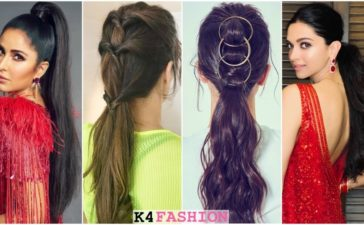 Beautiful Bollywood Actresses With Ponytail Hairstyle