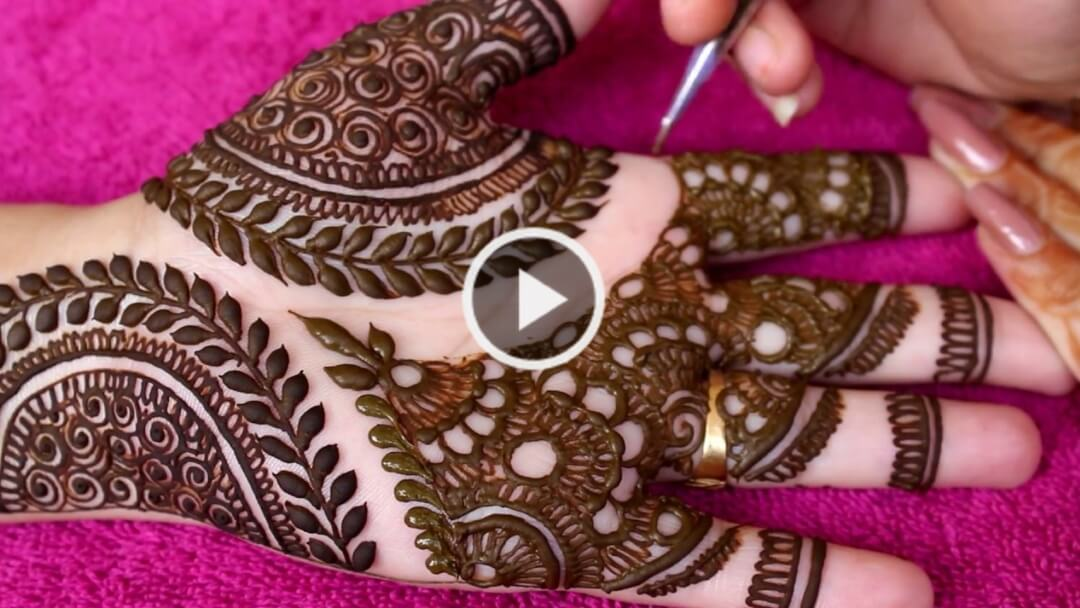 bridal Mehendi Design for hand