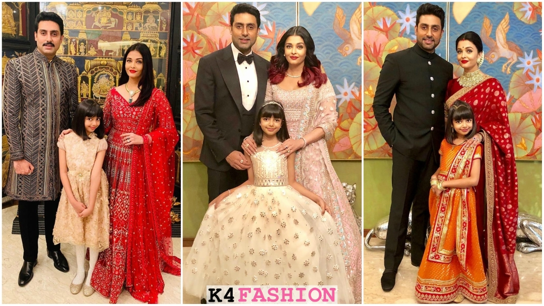 Aishwarya Rai Bachchan's Indian Wedding Outfits