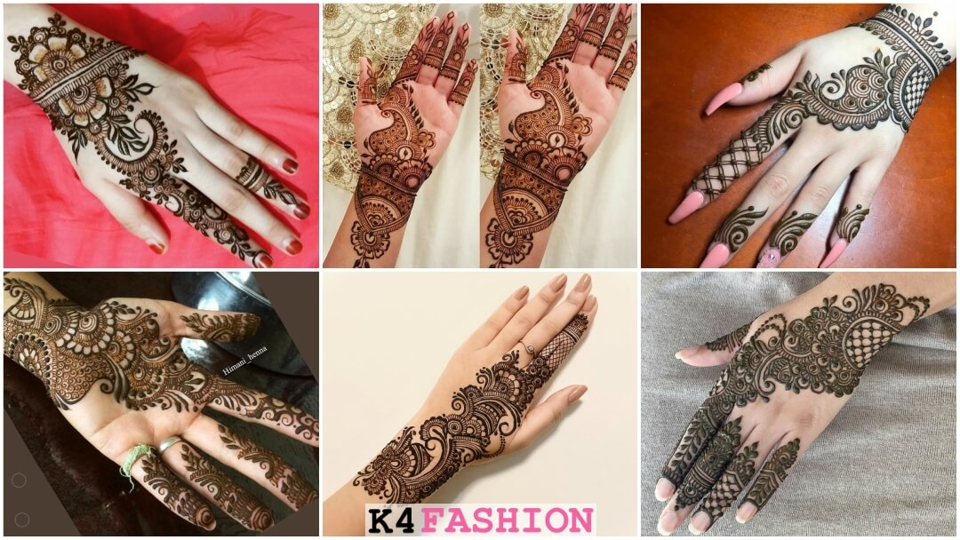 henna mehendi ideas for front back hand