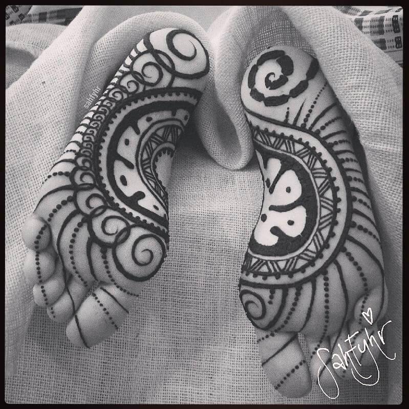 Modern Chic Sole Henna