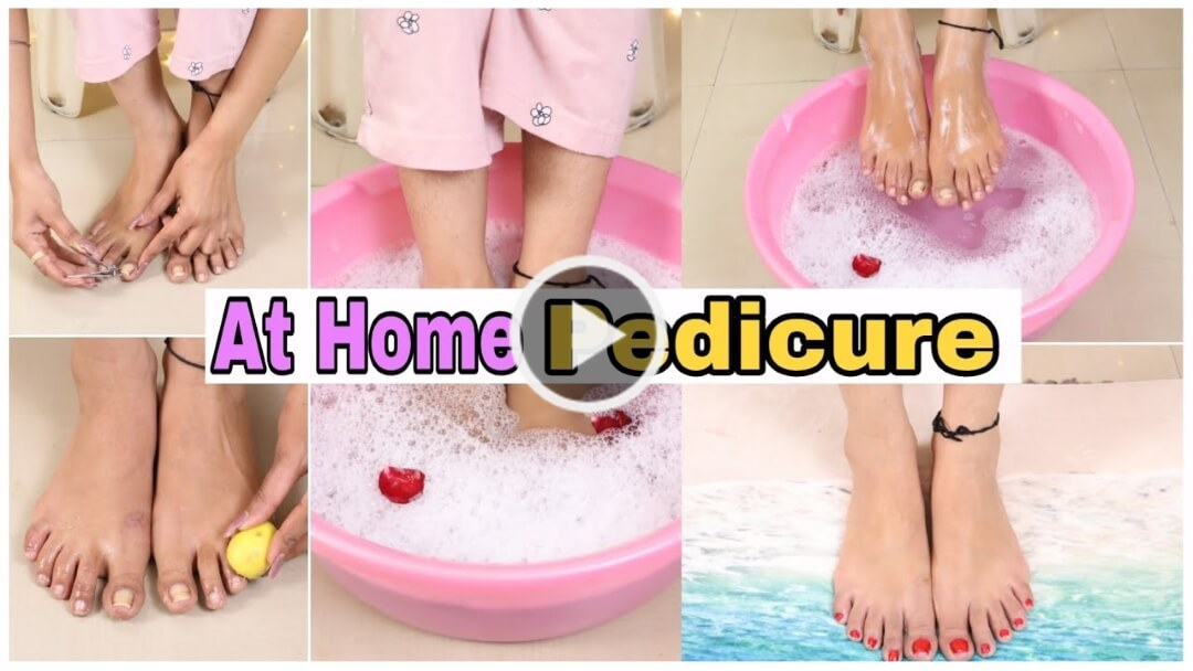 Tan Removal Feet Whitening Pedicure At Home