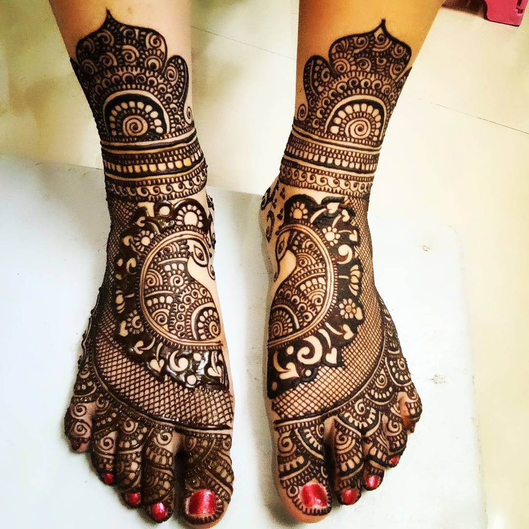 mehndi designs dulhan images