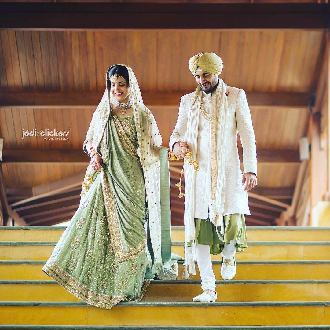 Couple Traditional Marriage Dress