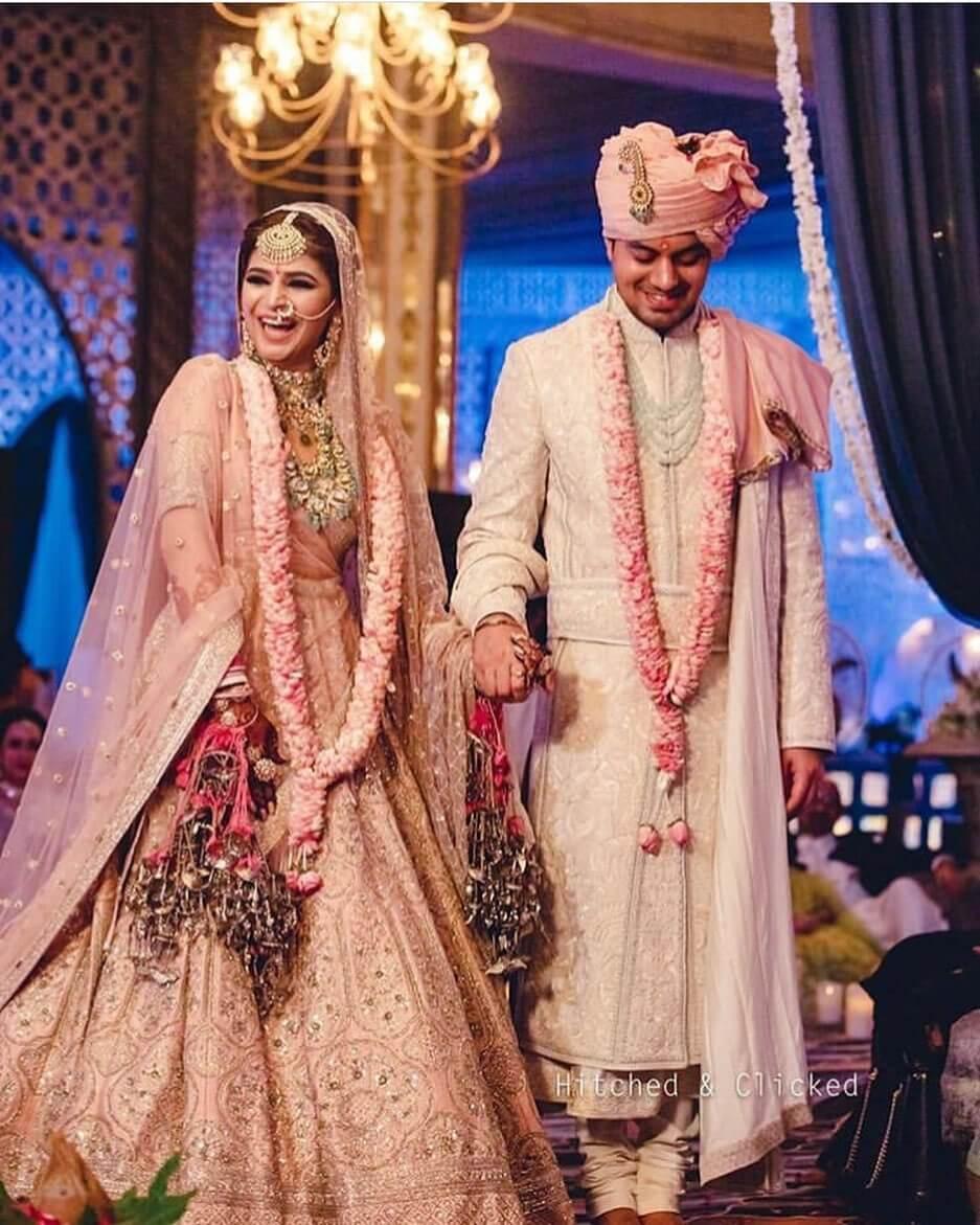 Royal Punjabi Matching Outfit Design