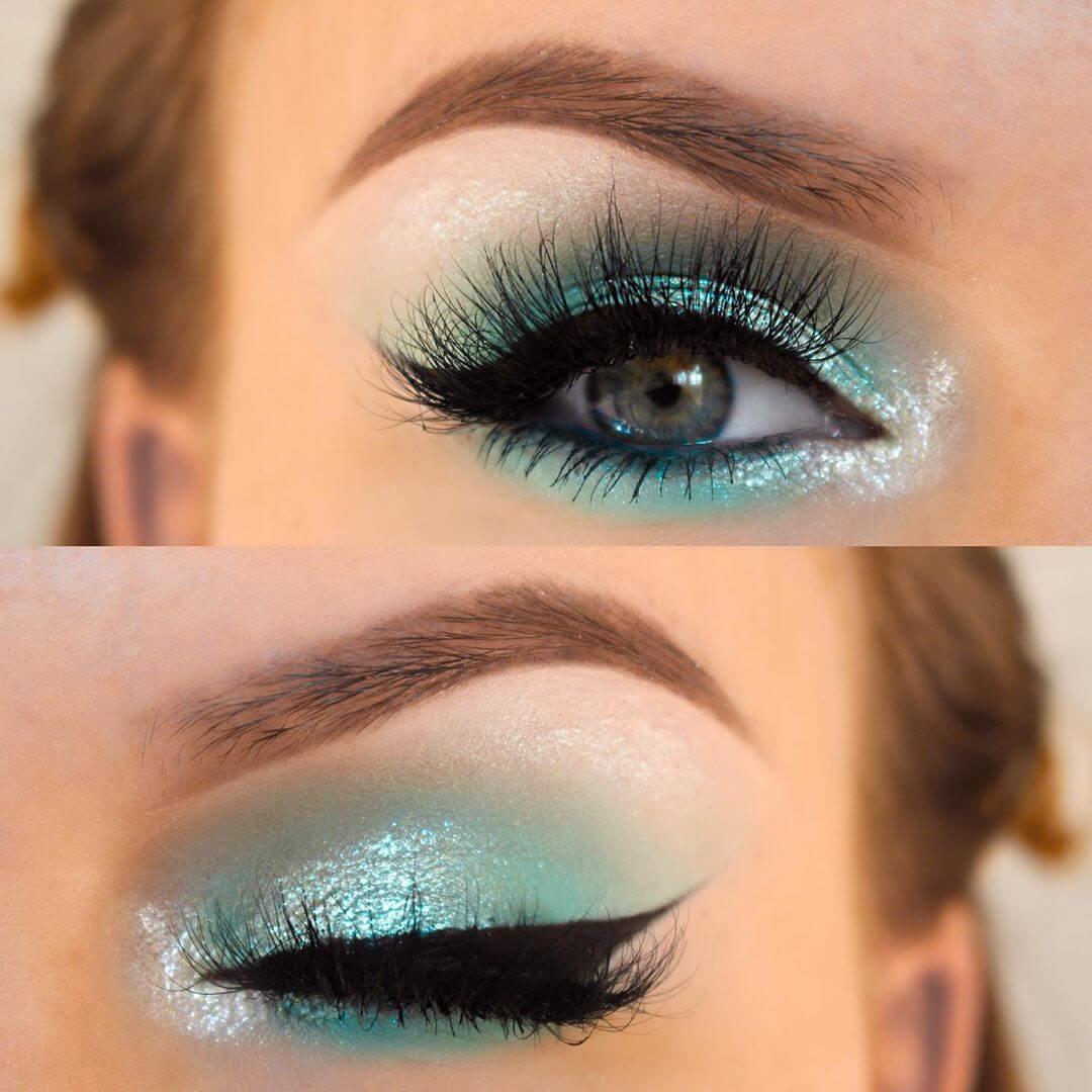 Majestic Mint eye makeup