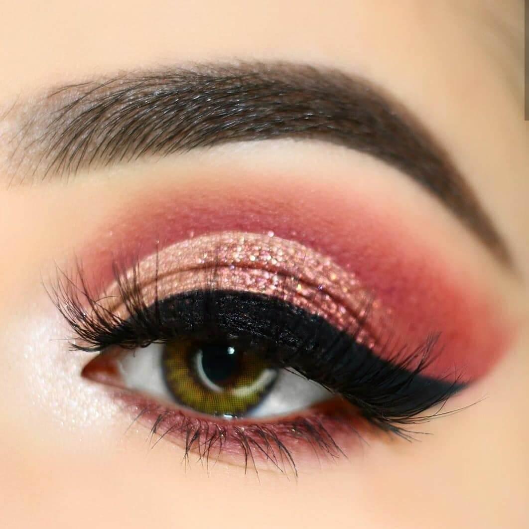 Ravishing Rose gold eye makeup