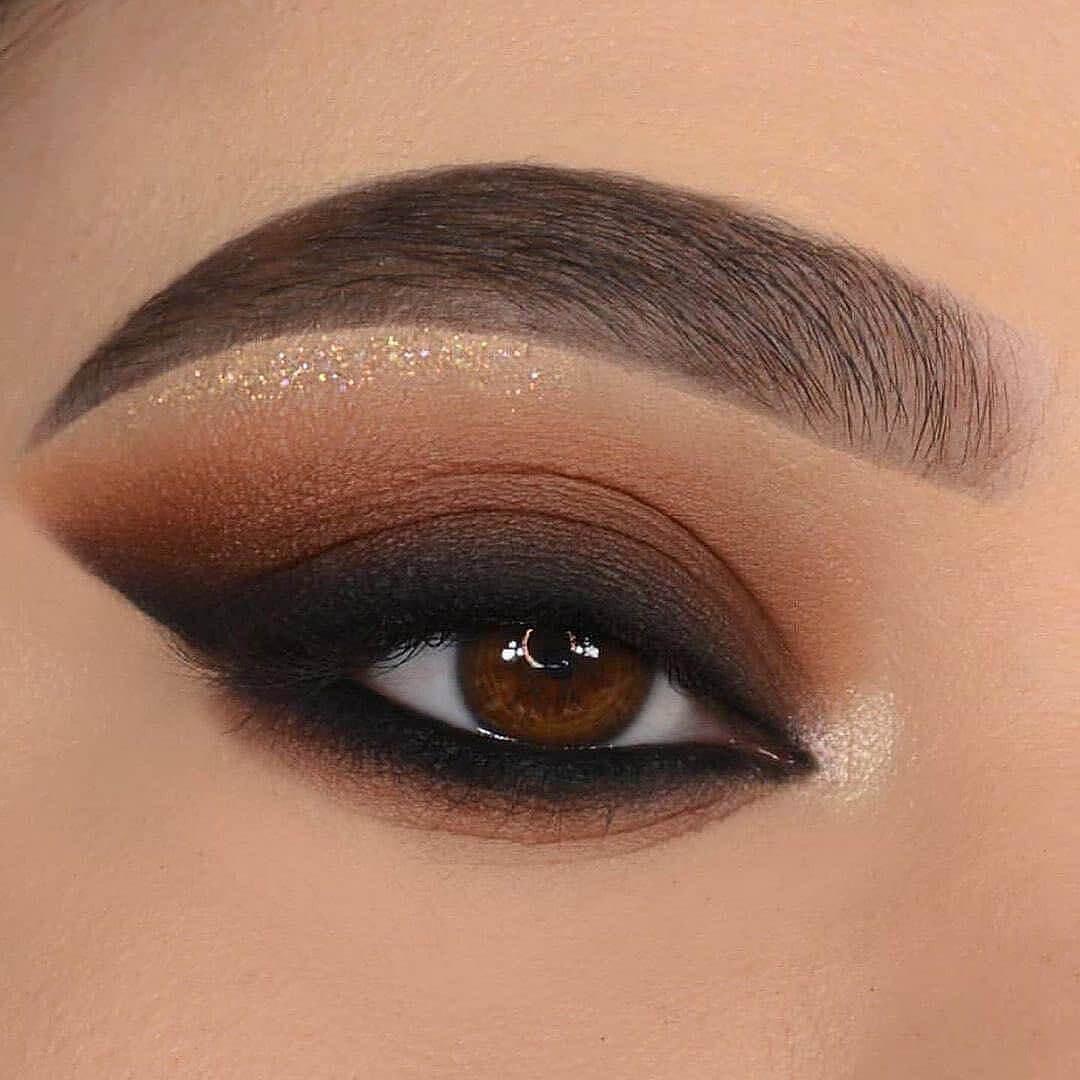 Bewitching Brown eye makeup