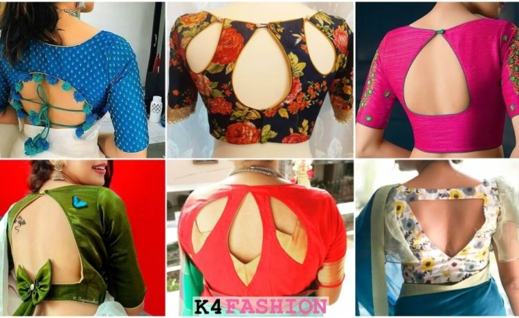 Latest Evergreen and Trendy Saree Blouse Back Designs