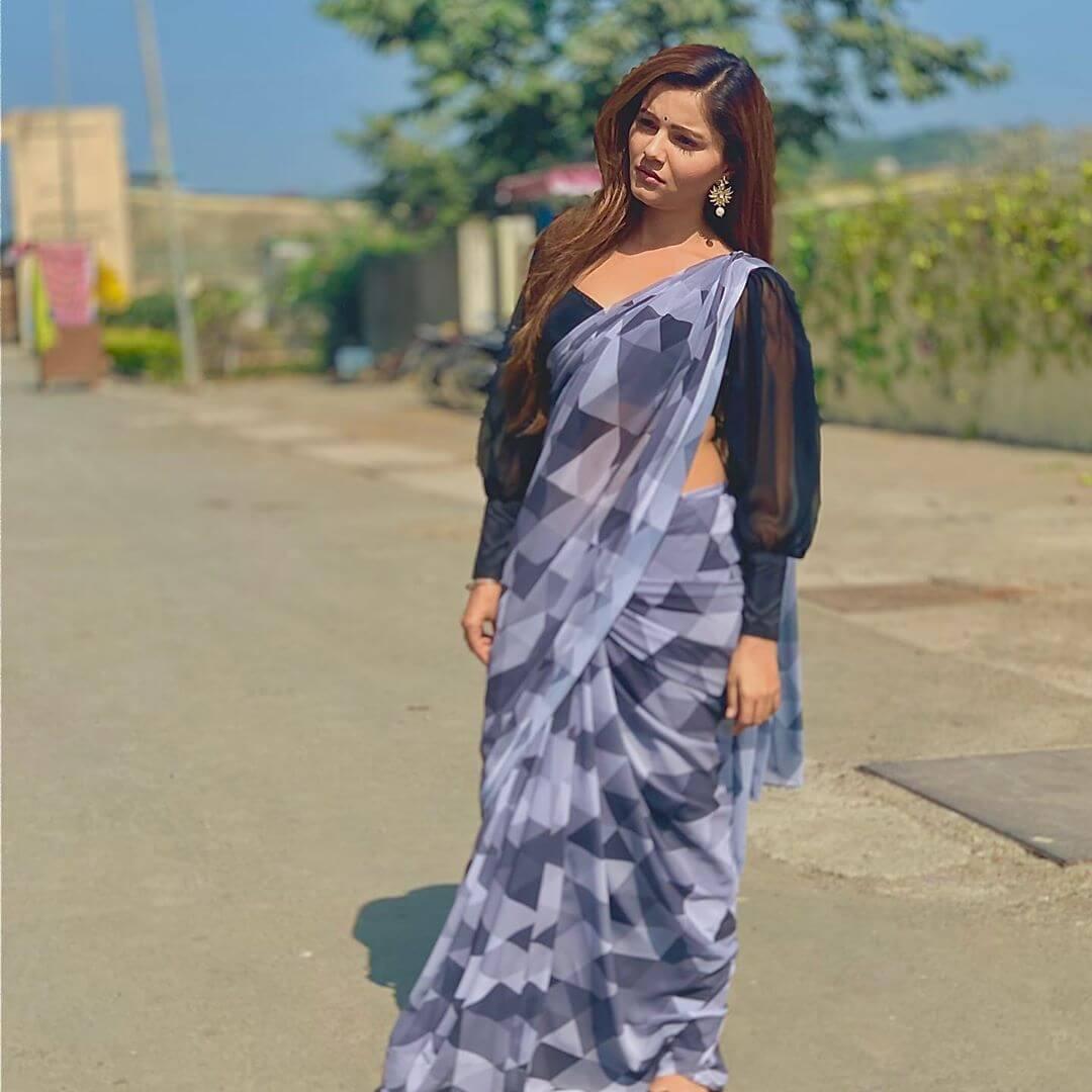 Variation Of Victorian Sleeves Saree Blouse Designs by Rubina Dilaik