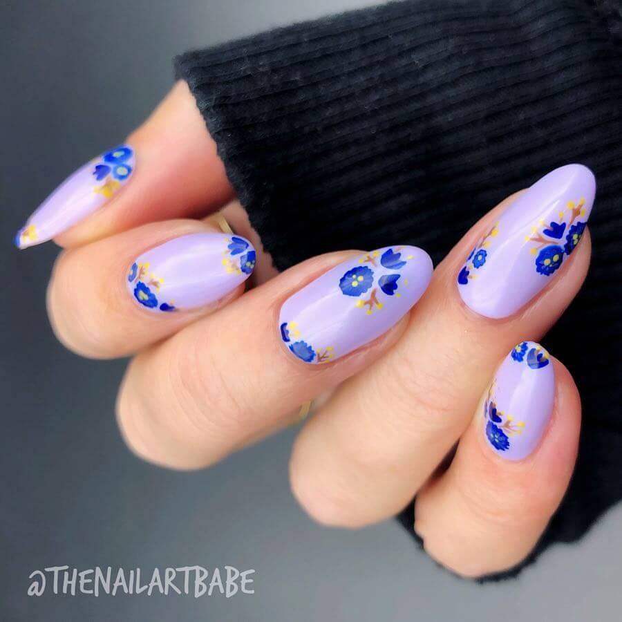 Cute Baby Blue Flowers
