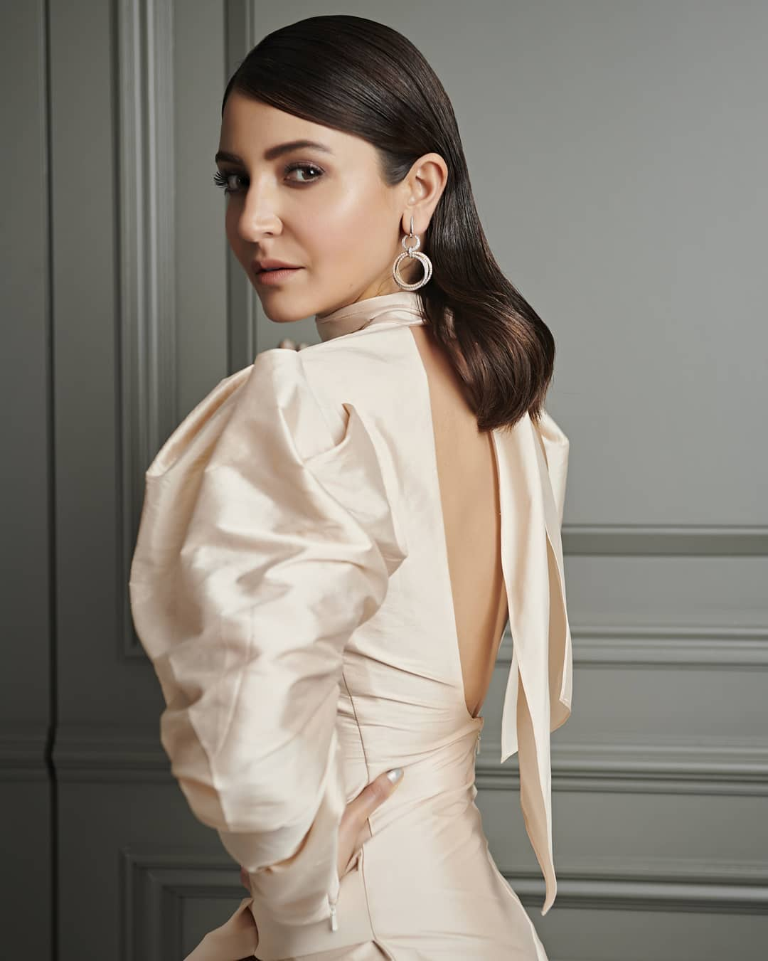 Double Hoops Doubling The Style Quotient Anushka Sharma's Earring Designs