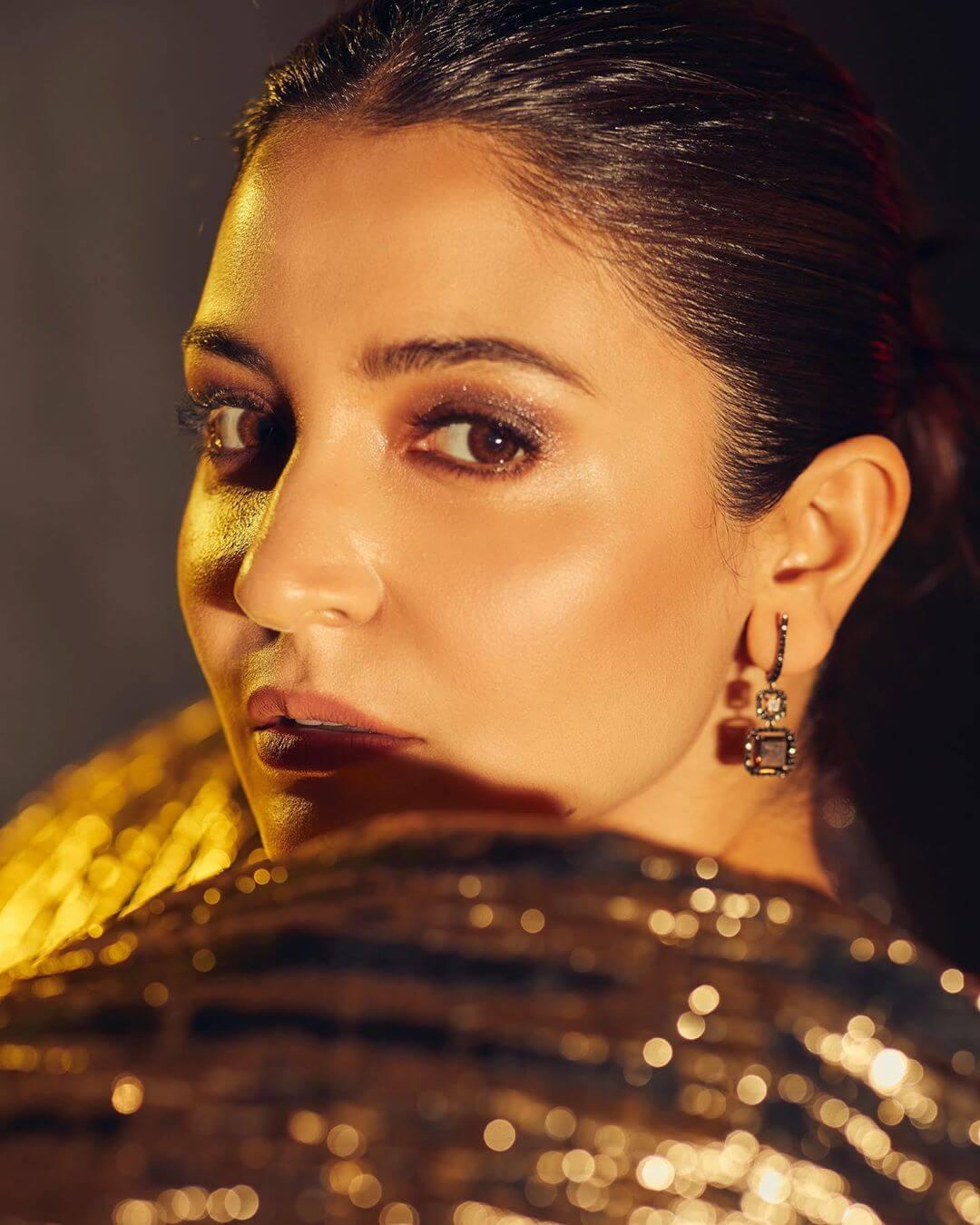 Dazzling Your Way Through Dangle Earrings Anushka Sharma's Earring Designs