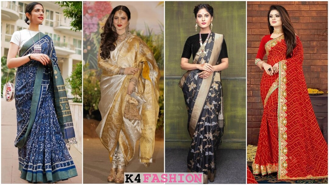 Types of Indian Sarees You MUST Have in Your Wardrobe