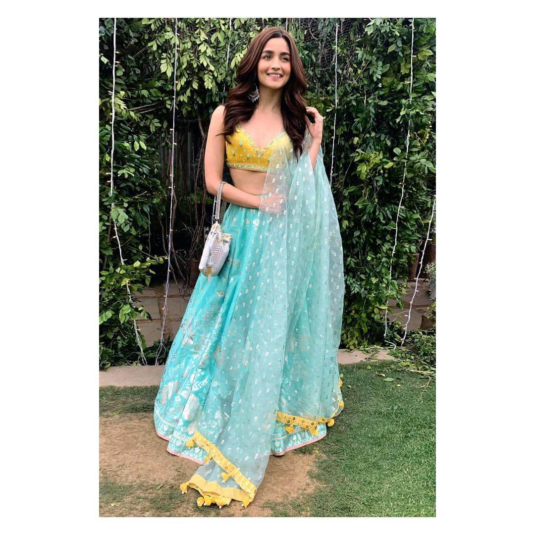 Alia Bhatt Floral Prints And Pastel Colors For Day Weddings