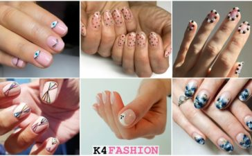 Super Easy Nail Art Ideas for Short Nails