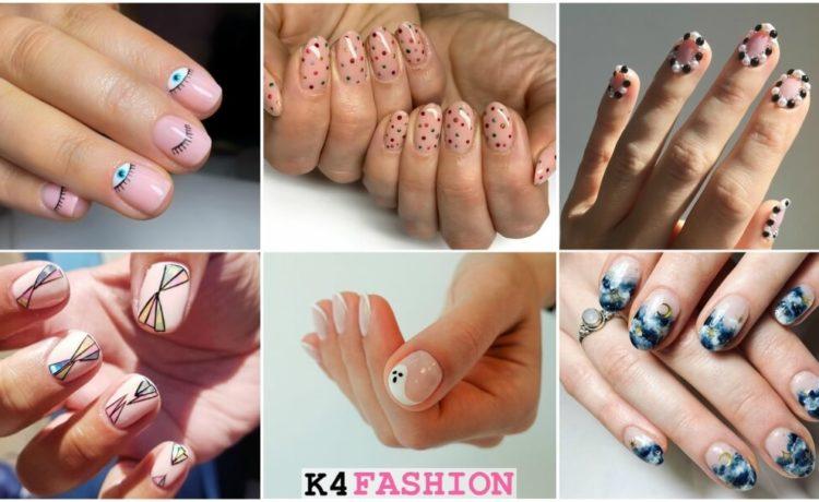 Super Easy Nail Art Ideas for Short Nails