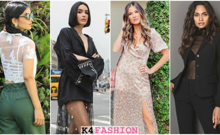 Sheer Clothing Ideas - How to Wear Tops, Skirts, and Pants
