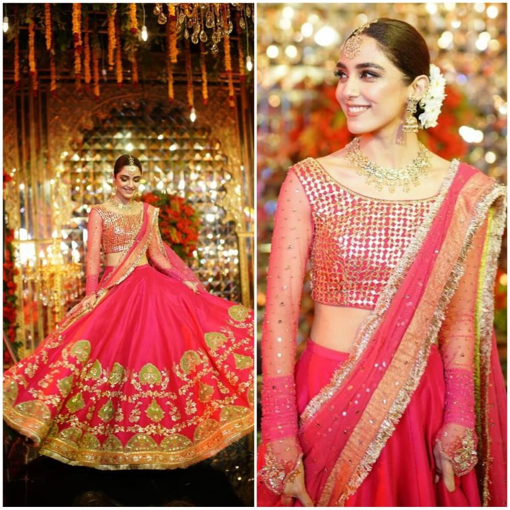 Slaying Your Sister's Sangeet In A Flare Lehenga