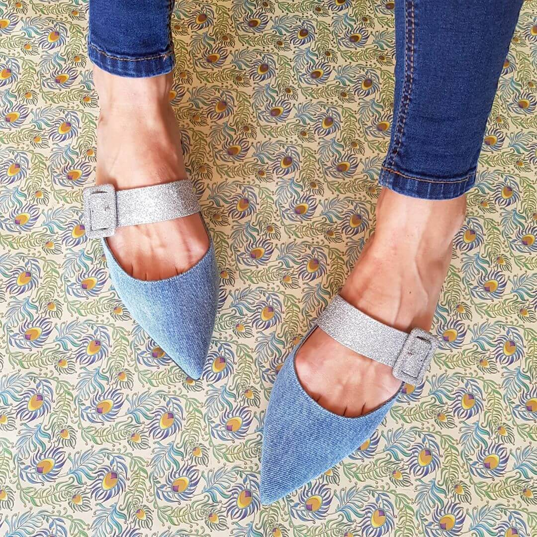 Dreamy Denim Footwear Must Have Footwears For Girls