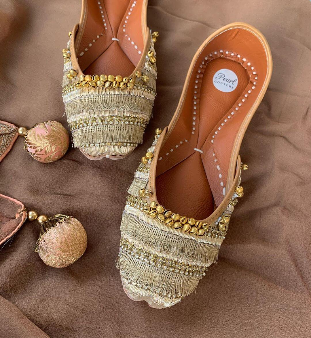 The Traditional Punjabi Jutti Must Have Footwears For Girls