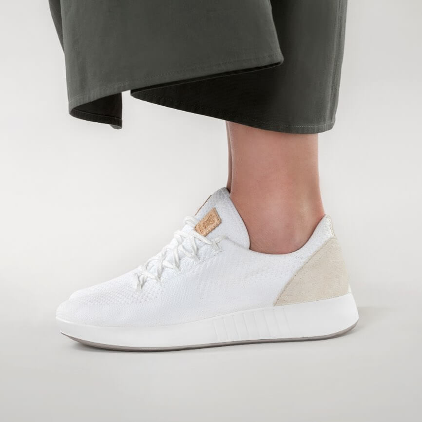 The Spry white Sneakers Must Have Footwears For Girls