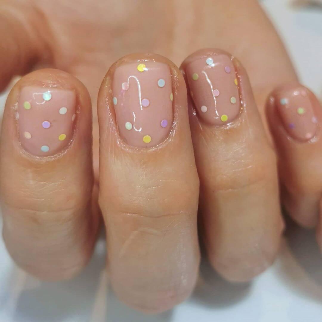Just the dots Polka Dot Nail Design