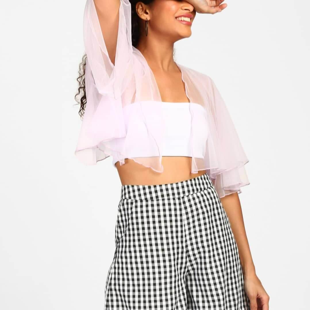 Sheer Butterfly Shrug Sheer Clothing Styles