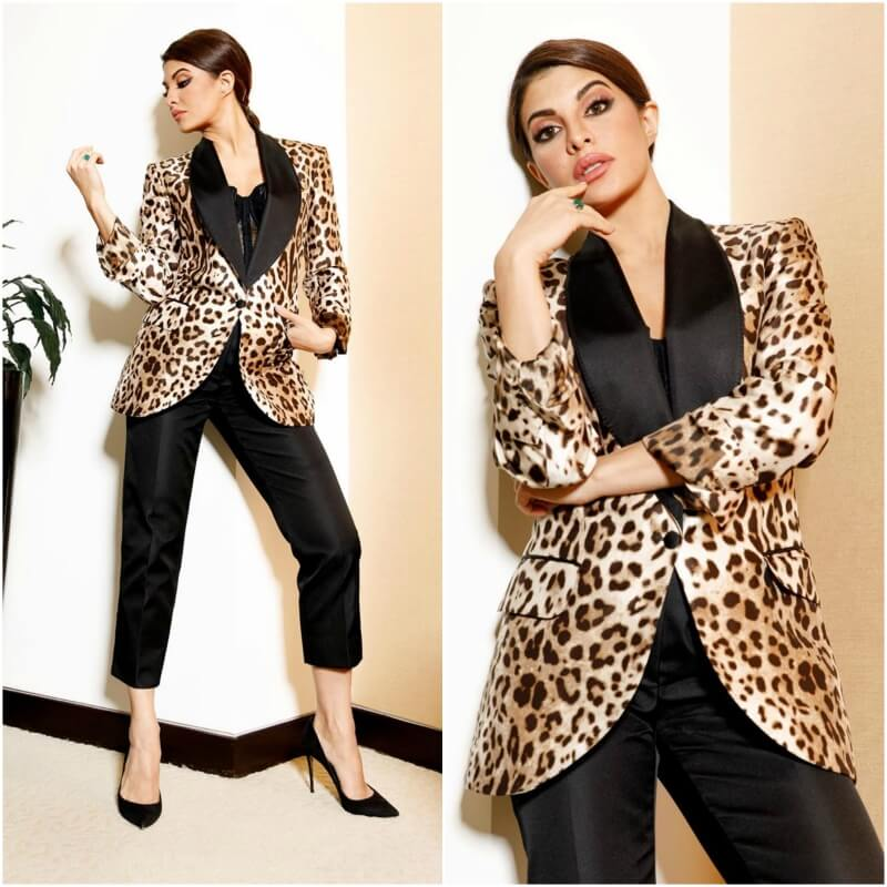 For the love of Leopard prints and Jacqueline Fernandez