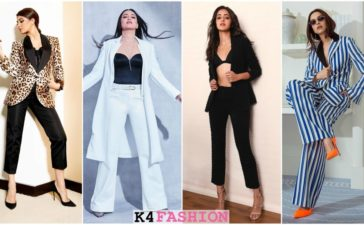 Ways To Wear Menswear Like These Bollywood Beauties