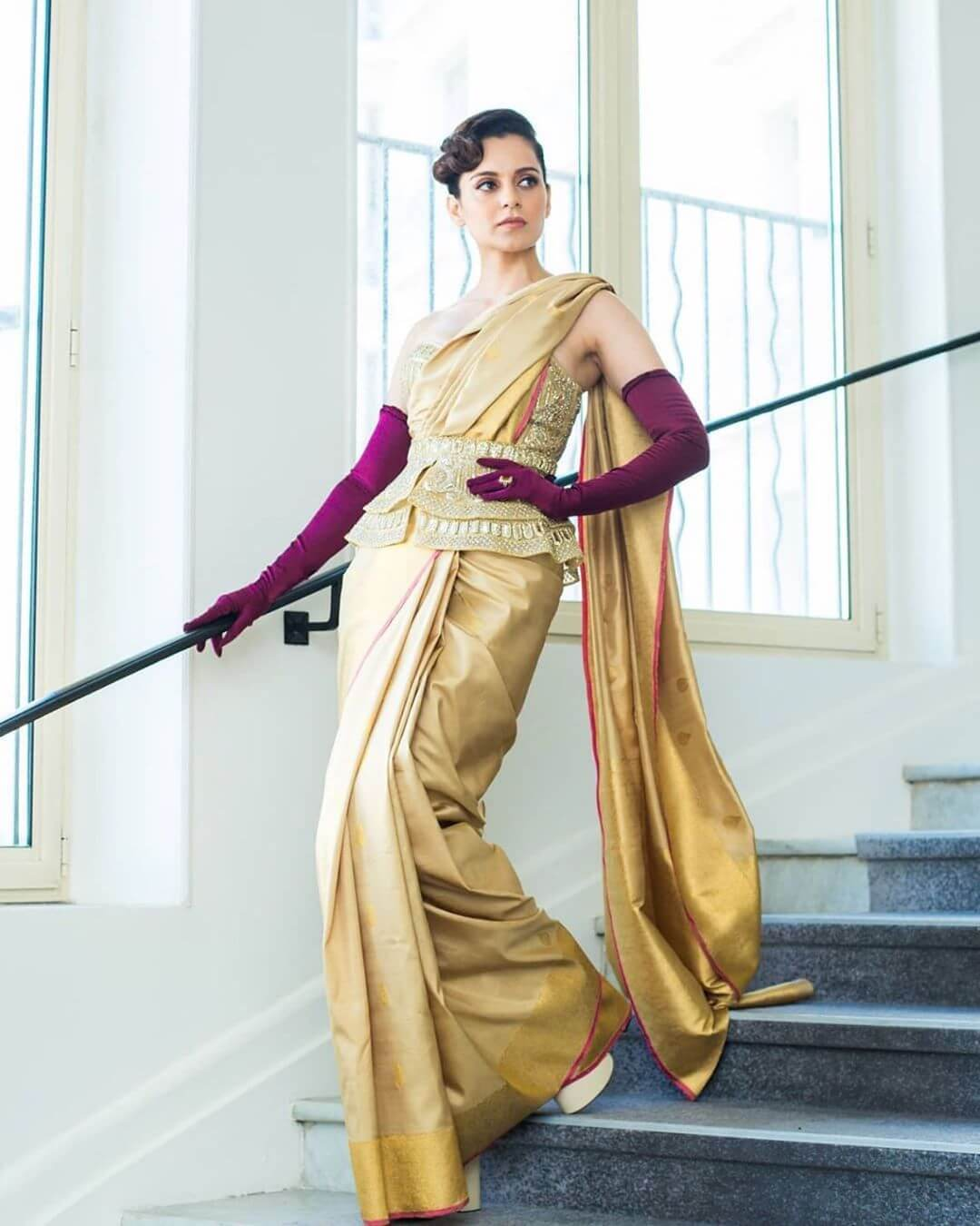 When Kangana Rocked The Royal Highness Look Cannes Looks By Indian Divas